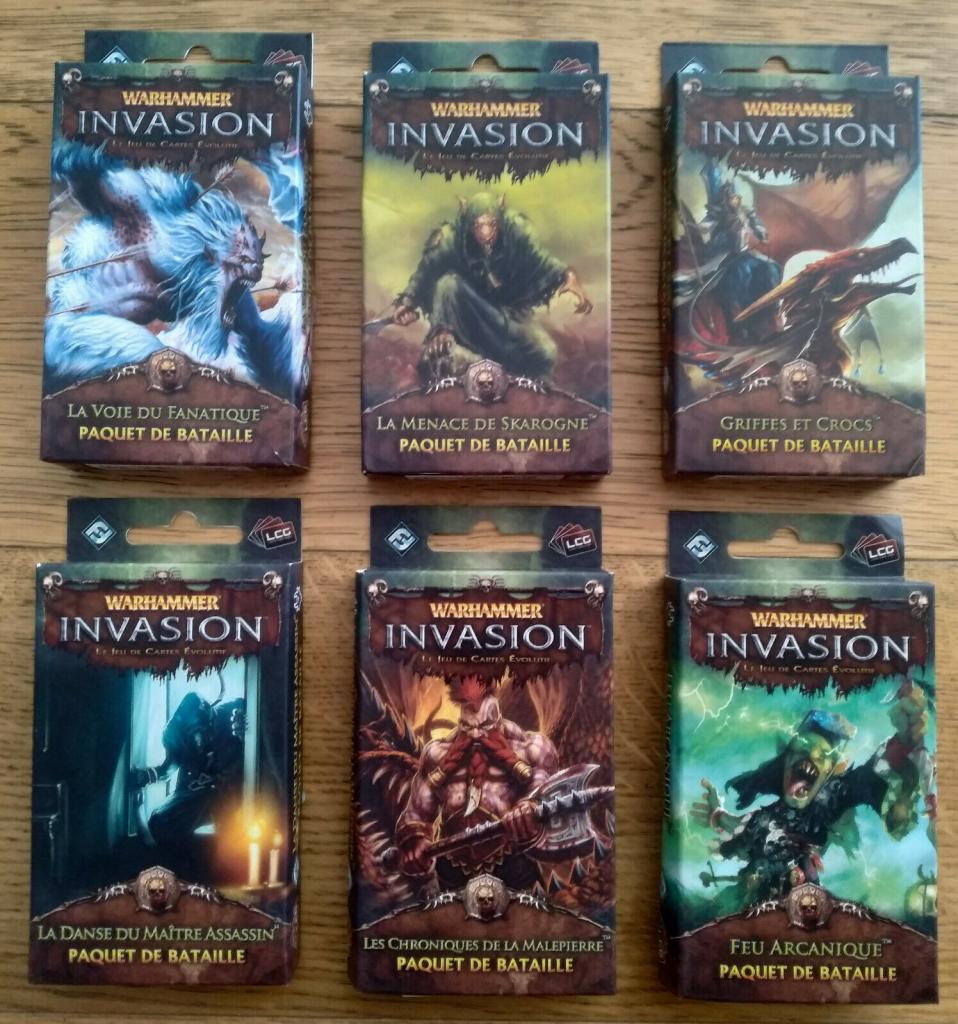 Warhammer Invasion -  Cycle De La Corruption