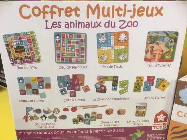 Coffret Multi-jeux Les Animaux Du Zoo