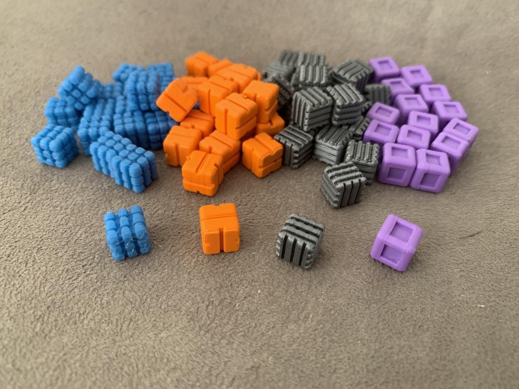 Anachrony - Ressources Cubes 3d