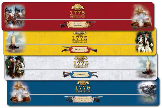 1775 La Revolution Americaine - Porte-cartes