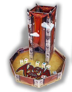 Arena For The Gods! - Tower Dice