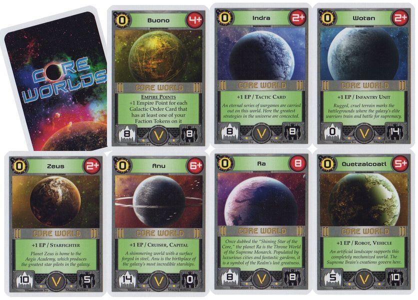Core Worlds - Cartes Promos