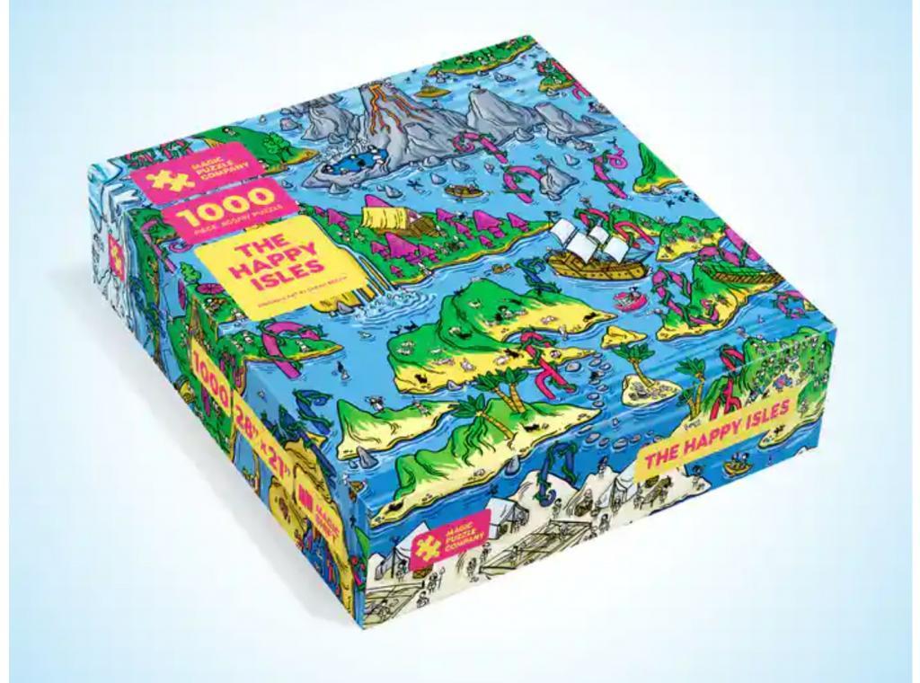 Magic Puzzle - The Happy Isles