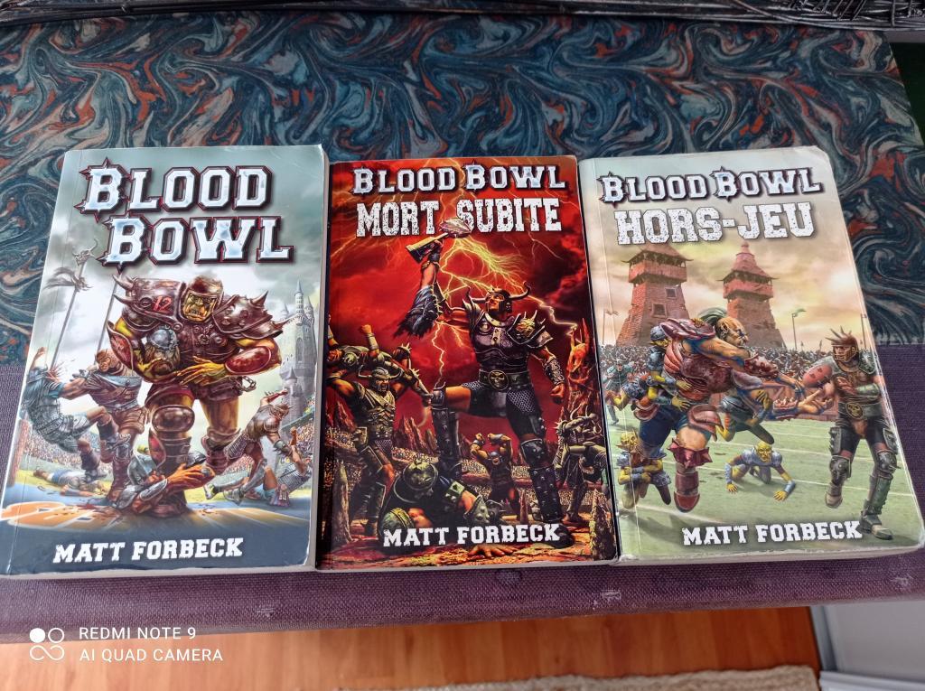 Blood Bowl 2016 - Livre De Poche Blood Bowl
