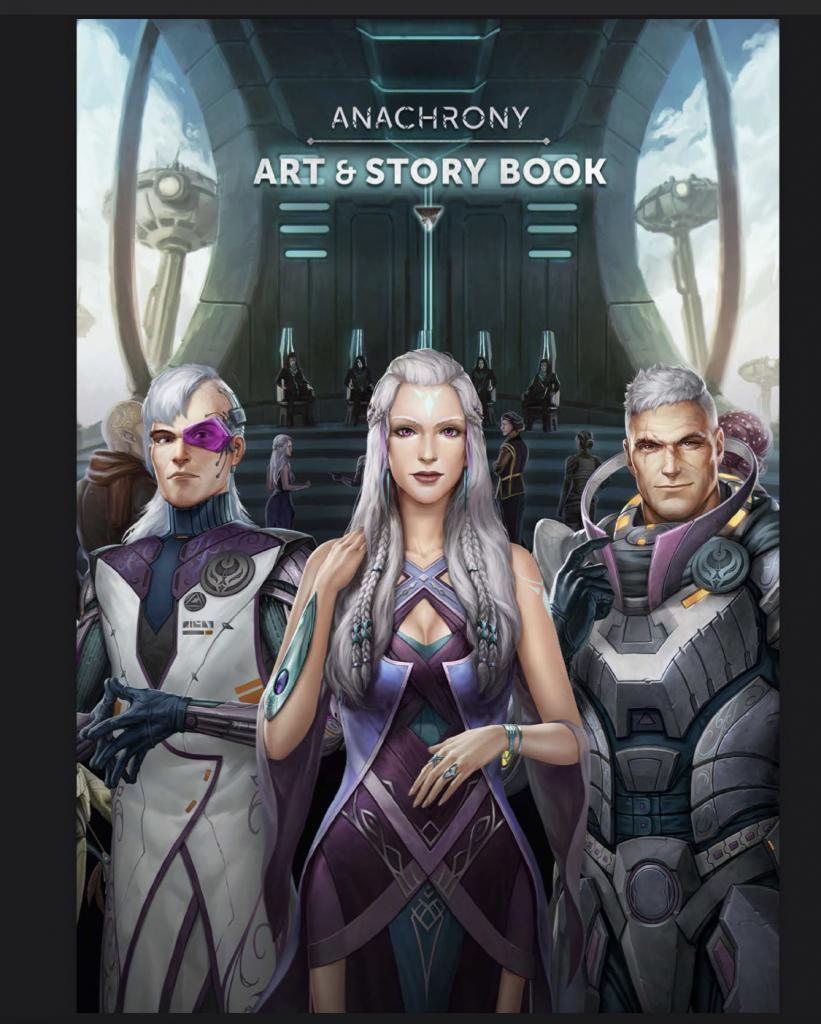 Anachrony - Art & Story Book