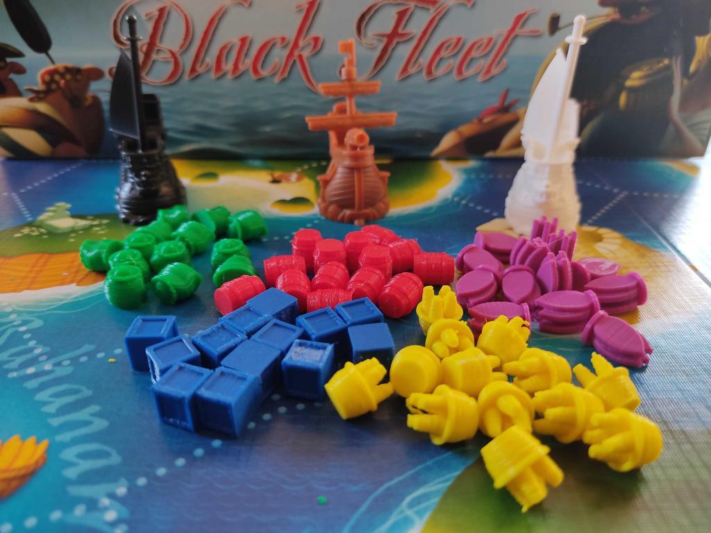Black Fleet - Ressources 3d