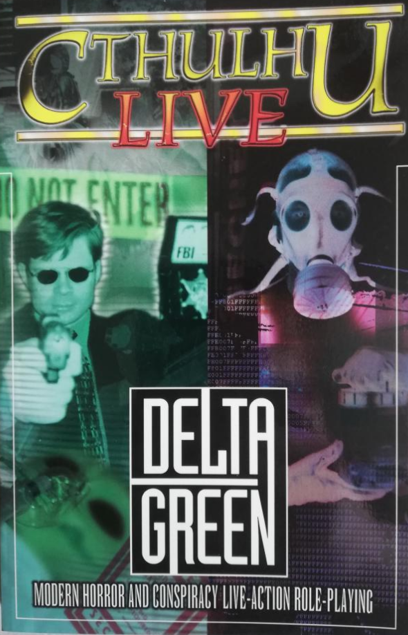 Cthulhu Live Second Edition - Cthulhu Live - Delta Green