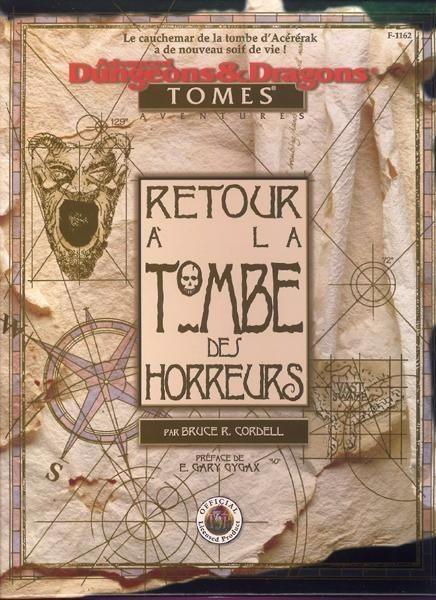 Advanced Dungeons & Dragons - 2ème Edition Vf - Retour à La Tombe Des Horreurs