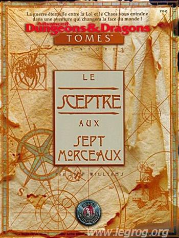 Advanced Dungeons & Dragons - 2ème Edition Vf - Le Sceptre Aux Sept Morceaux