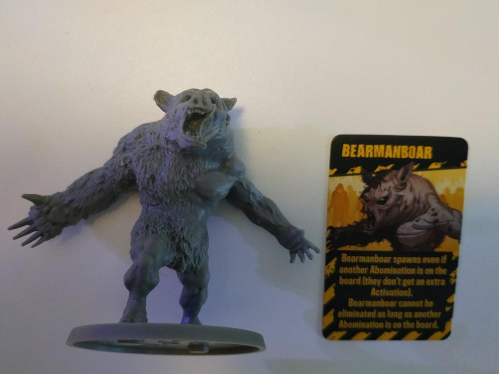 Abomination Bearmanboar Zombicide V2
