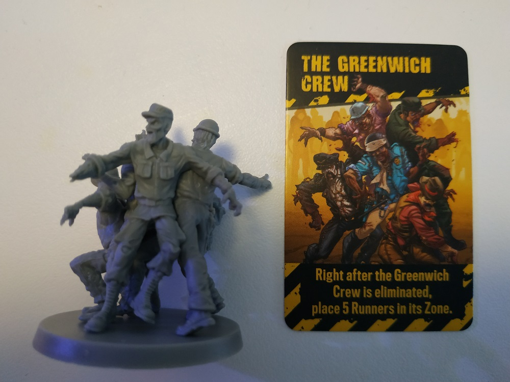 Abomination Greenwich Crew Zombicide V2