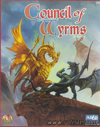Advanced Dungeons & Dragons - 2nd Edition - Council Of Wyrms