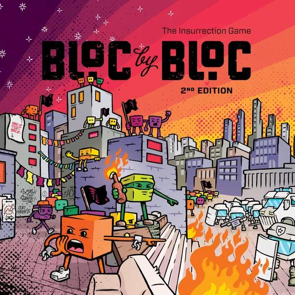 Bloc By Bloc : The Insurrection Game (2nd Edition Kickstarter)