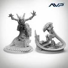 Avp The Hunt Begins 2nd Edition - Alien Evolved Warriors