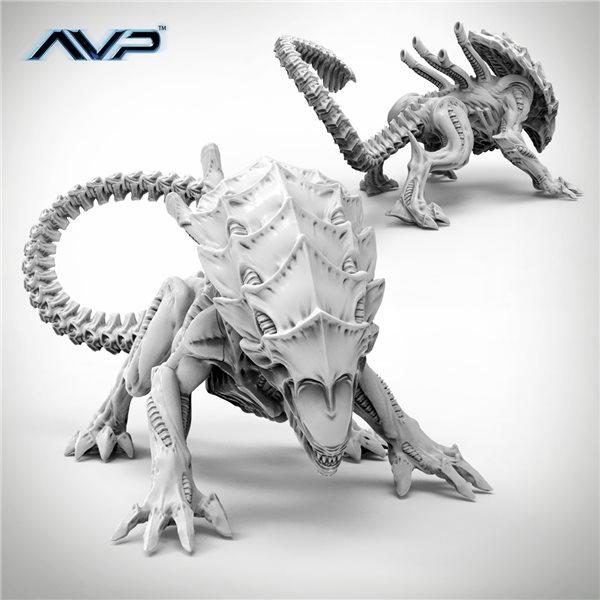 Avp The Hunt Begins 2nd Edition - Alien Crusher