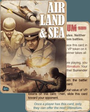 Air, Land & Sea - Ultimatum Promo Card
