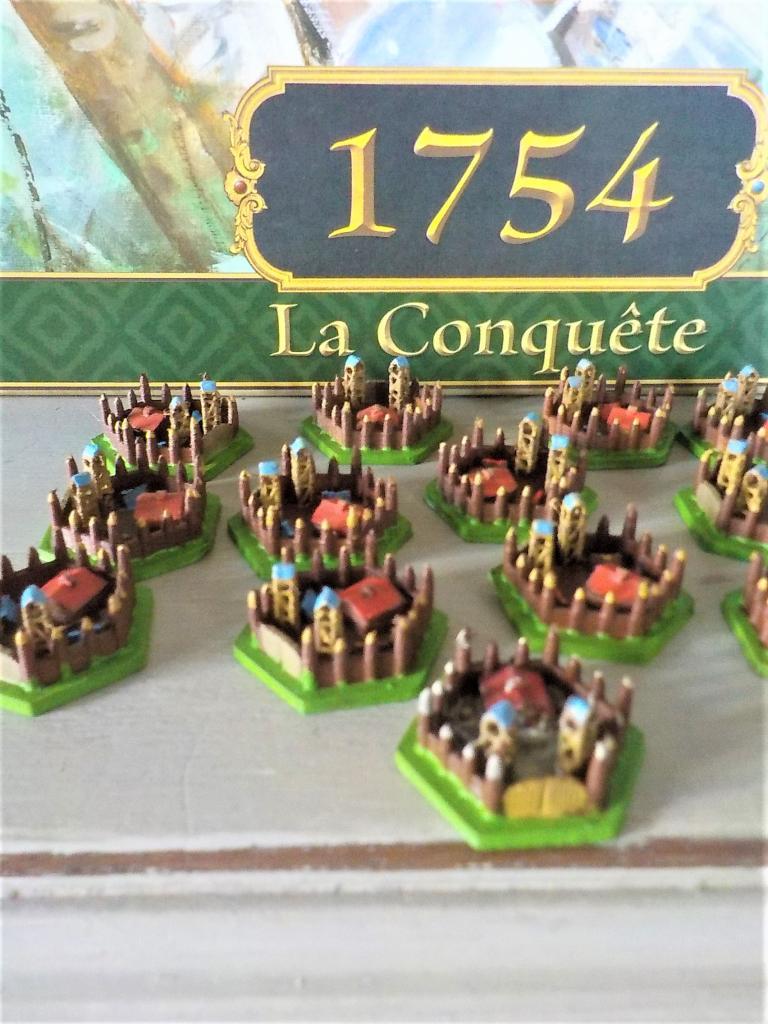 1754 : La Conquête - Pions 3d  Fort