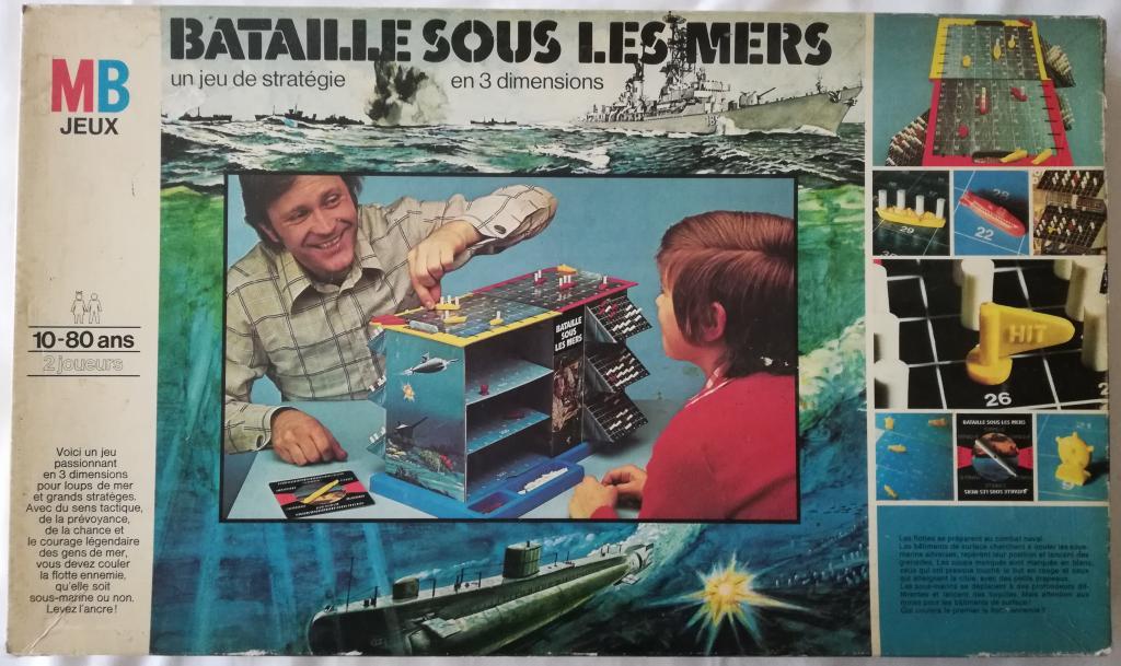 Bataille Sous Les Mers - Pièces Détachées