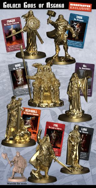 Blood Rage - Golden Deluxe Gods Of Asgard