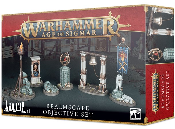 Age Of Sigmar - Realmscape Objective Set