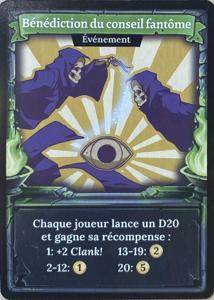 Clank! Legacy: Acquisitions Incorporated - Bénédiction Du Conseil Fantôme