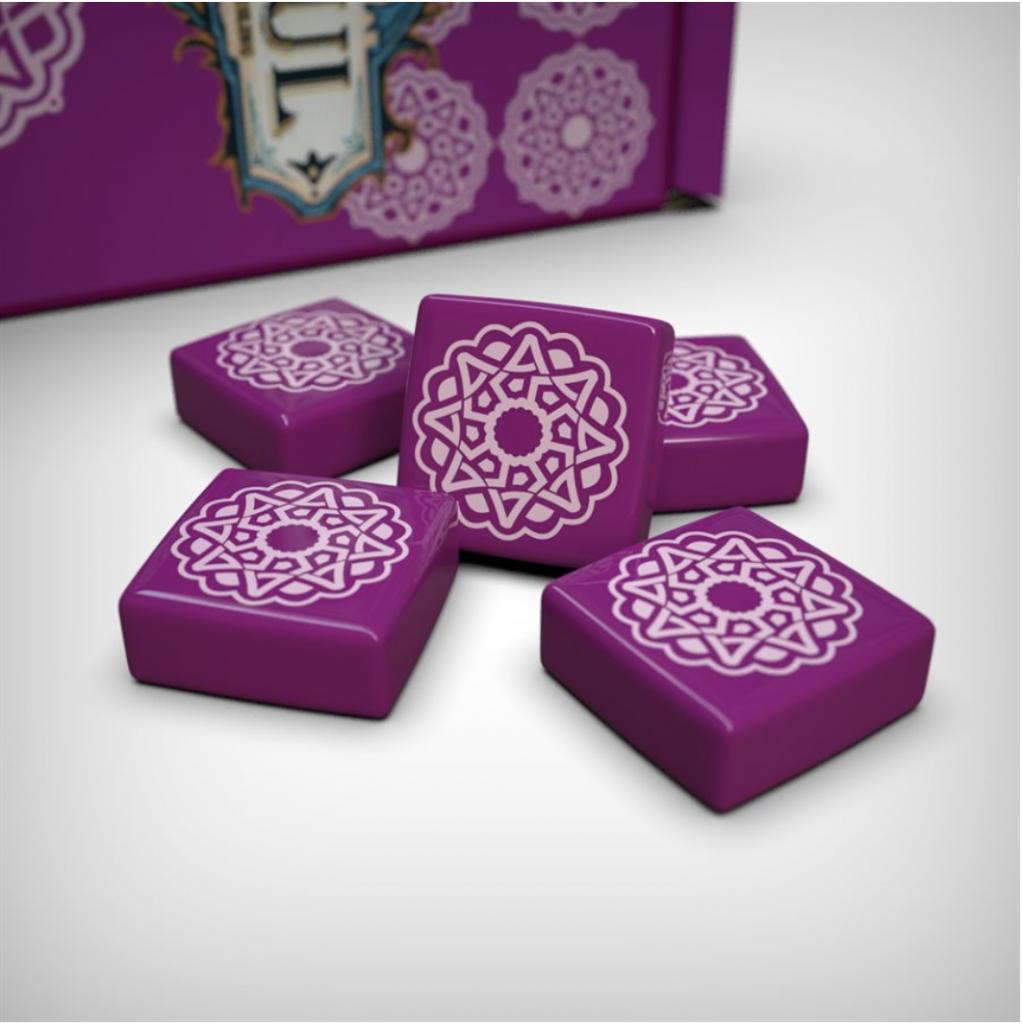 Azul - Set #3 Tuiles Violettes