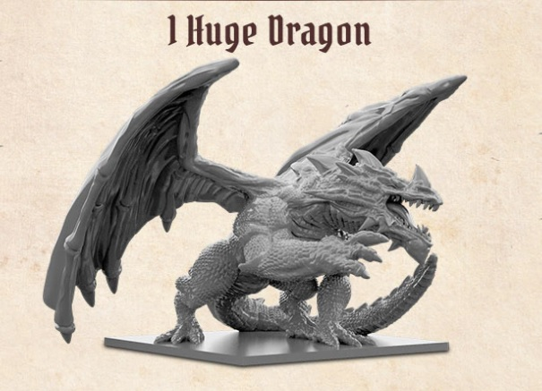 Arena: The Contest - Huge Dragon