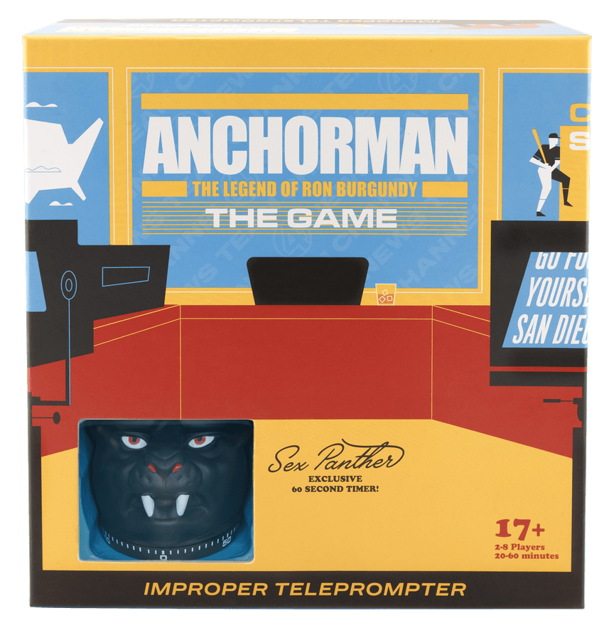 Anchorman: The Game – Improper Teleprompter