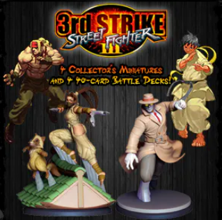 Street Fighter: The Miniatures Game - Extension Sf III