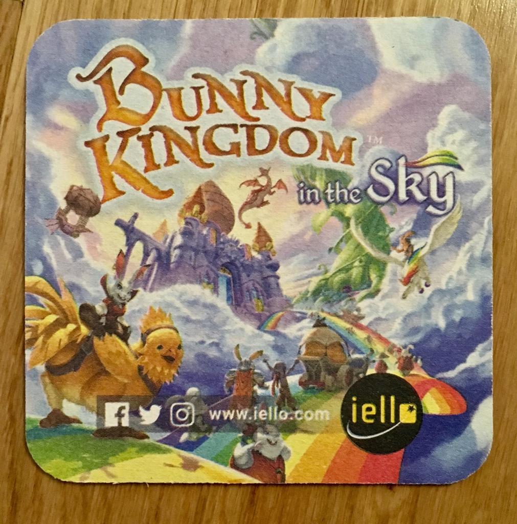 Bunny Kingdom : In The Sky - Sous Verre - Coaster