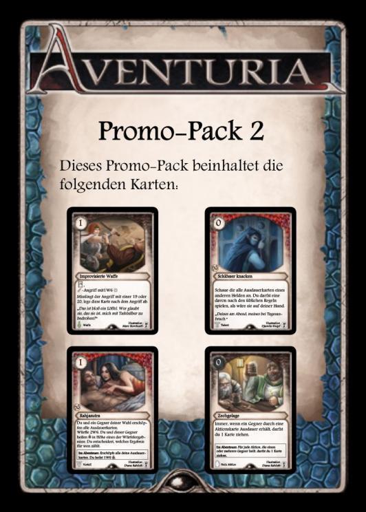 Aventuria - Adventure Card Game - Promo Pack #2