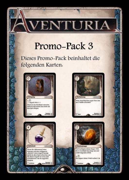Aventuria - Adventure Card Game - Promo Pack #3