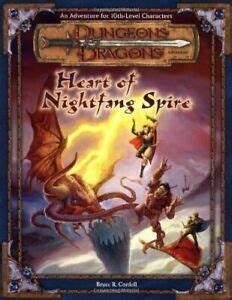 Advanced Dungeons & Dragons - 2nd Edition - Heart Of Nightfang Spire
