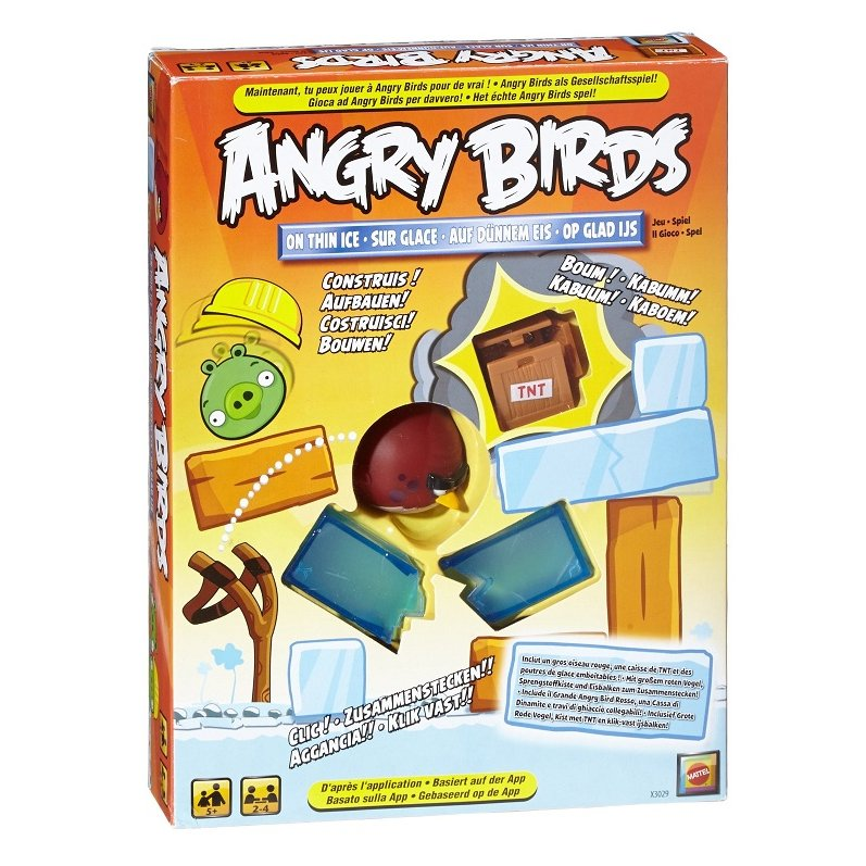 Angry Birds Sur Glace