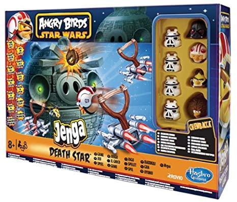 Angry Birds Star Wars Death Star (jenga)