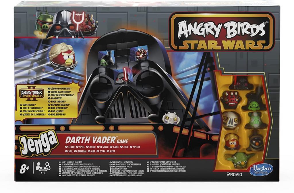Angry Birds Star Wars Darth Vader (jenga)