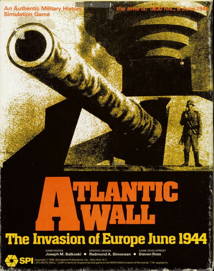 Atlantic Wall:the Invasion Of Europe