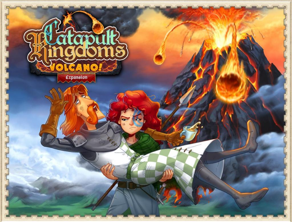Chateaux Et Catapultes - Volcan