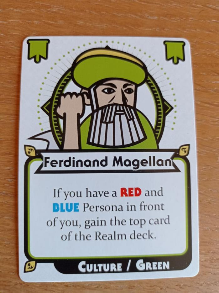 Conflicting Legends - Ferdinand Magellan Promo