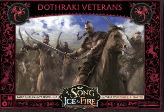 Le Trône De Fer - Le Jeu De Figurines - Vétérans Dothraki