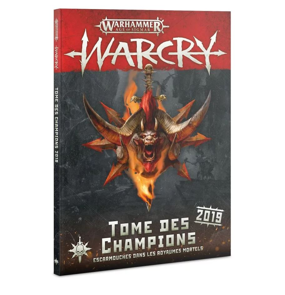 Age Of Sigmar: Warcry - Tome Des Champions 2019