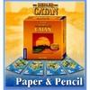 Catane / Les Colons De Catane - Papier & Crayons