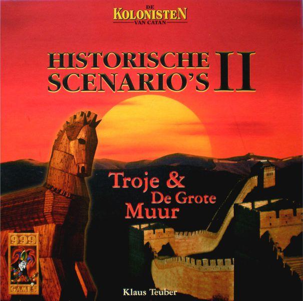 Catane / Les Colons De Catane : Scénarios Historiques - Troie & La Grande Muraille