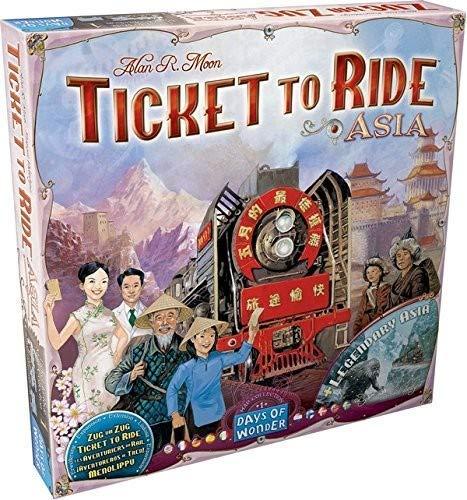Les Aventuriers du Rail - 01 : Asie & Asie Légendaire