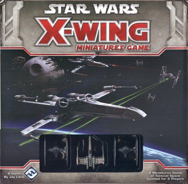 X-wing 1.0 - Le Jeu De Figurines - boite de base