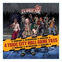 Image de Zombicide - Pack 4 tuiles Toxic city Mall