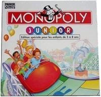 Image de monopoly junior - ancienne version - boite carré
