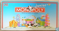 Image de monopoly junior - ancienne version - boite rectangle