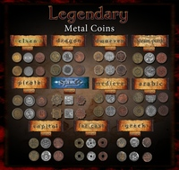 Image de Legendary Metal Coins for Gaming