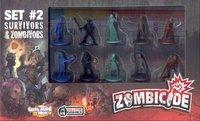 Image de Zombicide - set #2 survivors & zombivors